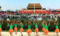 春英广场舞跳到北京 啦啦操版