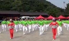刘荣广场舞舞动中国 大众版 100人齐跳