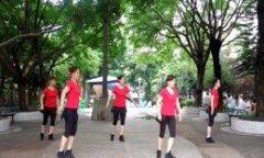 叶子广场舞真的不容易