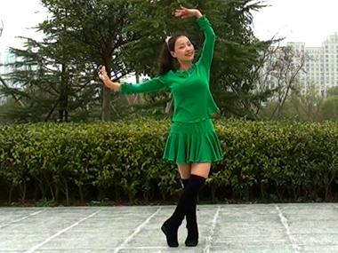 茉莉广场舞雪山姑娘 正背面演示与口令分解动作教学 糖豆广场舞课堂2014-12-07期