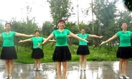 张林冰广场舞借点情借点爱 正背面演示 原创舞蹈