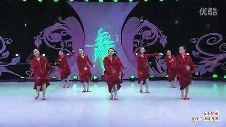 美久广场舞火火的爱 演示:江西奉新蓉蓉梦之美舞蹈队 2015新舞