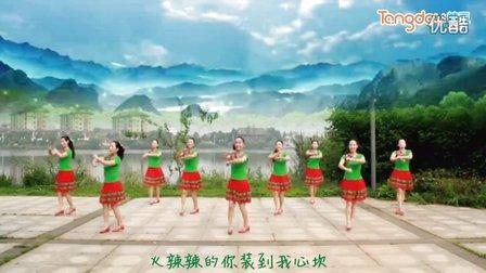 春英广场舞小辣椒 背面演示与口令分解动作教学