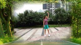 叶子广场舞花桥流水 正背面演示与口令分解动作教学 DJ版