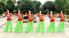 春英广场舞茉莉花香 背面演示与口令分解动作教学