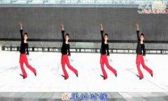 太湖一莲广场舞爱的世界只有你 正背面演示 集体版