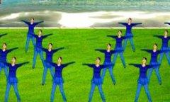 太湖一莲广场舞舞动中国 队形变换