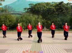 云裳广场舞美好情缘 正背面演示与口令分解动作教学