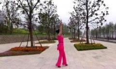 沭河之光广场舞山谷里的思念 正背面演示与口令分解动作教学 原创舞蹈