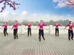 云裳广场舞你像一朵花 正背面演示与口令分解动作教学