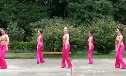 廖弟广场舞中国美 正面演示