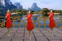 蓝天云广场舞自在美