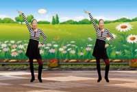 蓝天云广场舞最美最美 含正背面演示与分解动作教学
