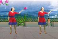 蓝天云广场舞相信我没有错 恰恰 正背面演示与分解动作教学