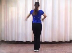 益馨广场舞中国美 背面演示