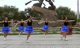 兰州莲花广场舞舞动中国 含背面演示与分解教学