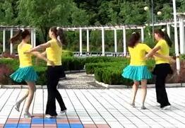 蝶依广场舞火恋 正背面演示与分解动作教学