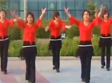 大庆银河广场舞等你等了那么久 正背面演示与分解动作教学