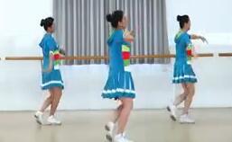 刘荣广场舞踩踩踩 正背面演示与分解动作教学