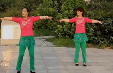 北京朝丽晚霞广场舞舞动中国