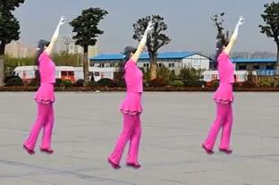 益馨广场舞歌在飞 含背面演示与分解动作教学