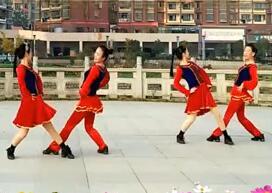 新风尚最新广场舞歌在飞 含背面演示与分解动作教学
