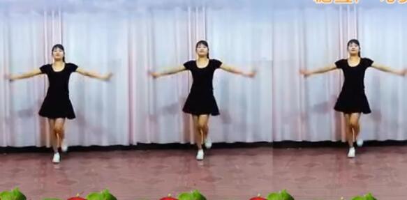 益馨广场舞女人没有错 正背面演示与分解动作教学