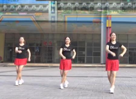 叶子广场舞 最美最美 含背面动作分解教学