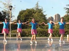 茉莉广场舞 花桥流水 原创健身舞简单轻松附教学