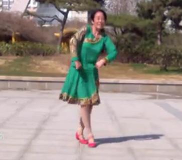 春秋广场舞《康巴情》